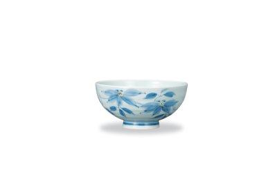 画像1: 飯碗 染付鉄仙