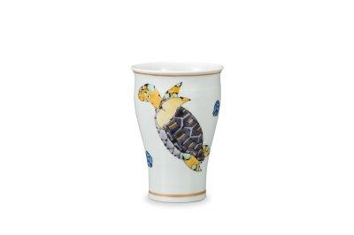 画像1: フリーカップ  カメ
